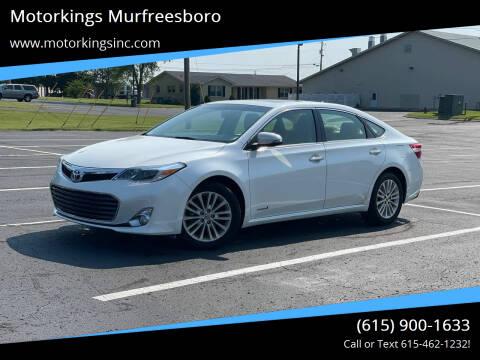 2013 Toyota Avalon Hybrid for sale at Motorkings Murfreesboro in Murfreesboro TN