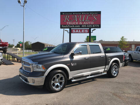 2017 RAM Ram Pickup 1500 for sale at RAUL'S TRUCK & AUTO SALES, INC in Oklahoma City OK