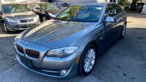 2012 BMW 5 Series for sale at ELITE MOTORS in West Haven CT