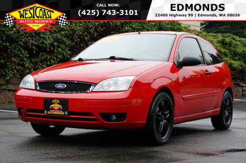 2005 Ford Focus for sale at West Coast Auto Works in Edmonds WA