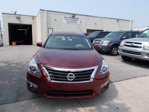 2013 Nissan Altima for sale at ACH AutoHaus in Dallas TX