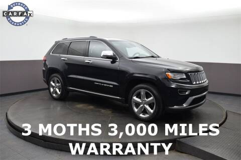 2015 Jeep Grand Cherokee for sale at M & I Imports in Highland Park IL