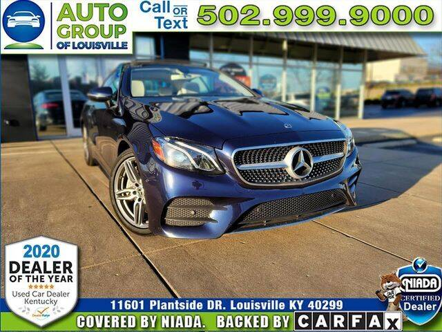 2018 Mercedes-Benz E-Class for sale in Louisville, KY