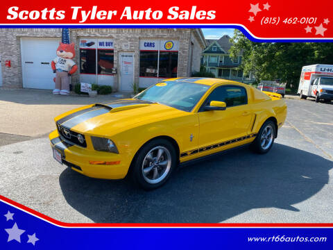 2006 Ford Mustang for sale at Scotts Tyler Auto Sales in Wilmington IL