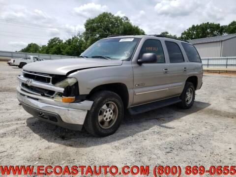 2002 Chevrolet Tahoe for sale at East Coast Auto Source Inc. in Bedford VA