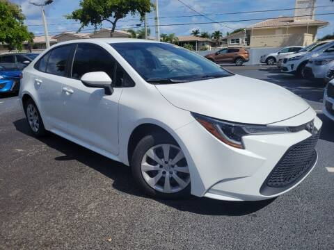 2021 Toyota Corolla for sale at PHIL SMITH AUTOMOTIVE GROUP - Phil Smith Kia in Lighthouse Point FL