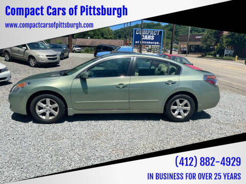 2007 Nissan Altima for sale at Compact Cars of Pittsburgh in Pittsburgh PA