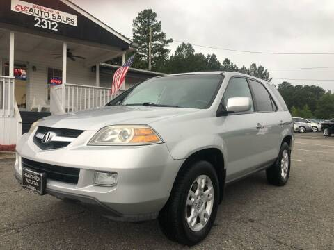2004 Acura MDX for sale at CVC AUTO SALES in Durham NC
