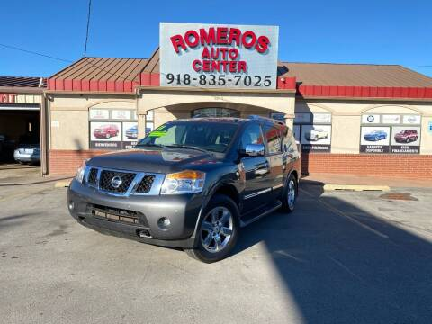 2011 Nissan Armada for sale at Romeros Auto Center in Tulsa OK