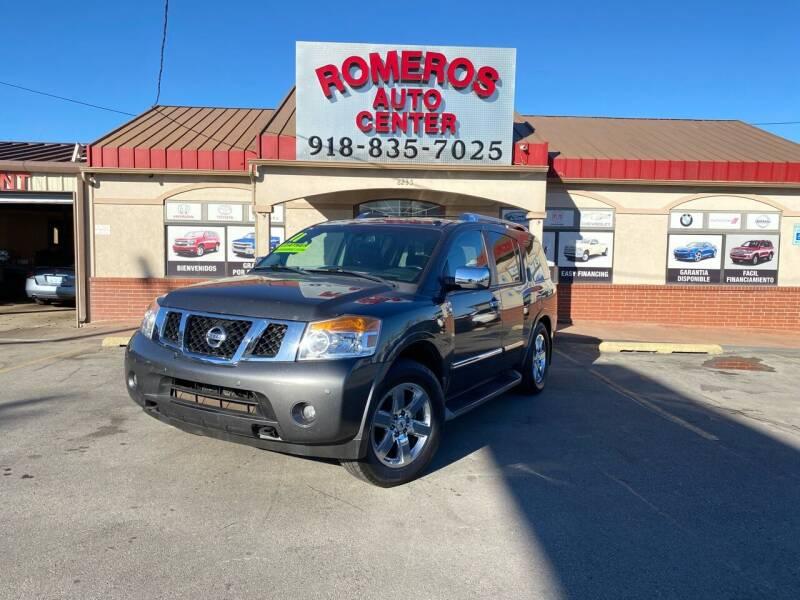 2011 Nissan Armada for sale at Romeros Auto Center in Tulsa OK