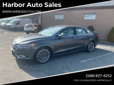 2017 Ford Fusion Hybrid for sale at Harbor Auto Sales in Hyannis MA