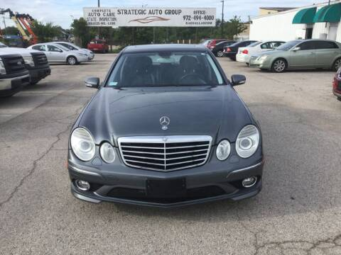 2009 Mercedes-Benz E-Class for sale at Strategic Auto Group in Garland TX