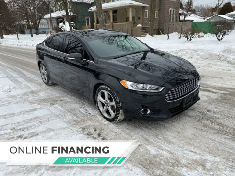 2015 Ford Fusion for sale at RIVER AUTO SALES CORP in Maywood IL