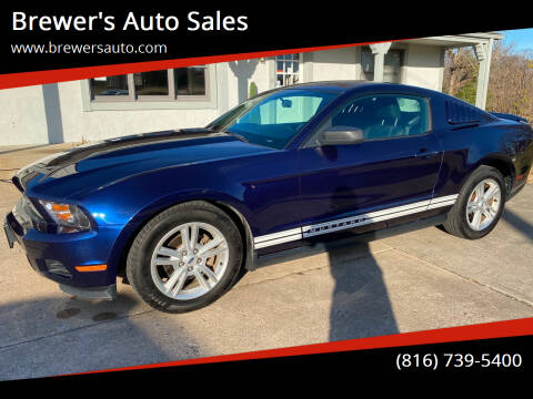 2010 Ford Mustang for sale at Brewer's Auto Sales in Greenwood MO