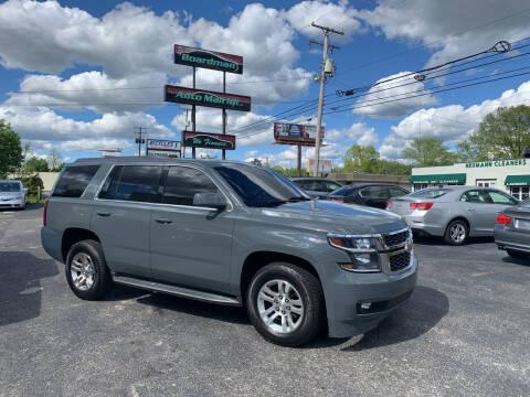 2015 Chevrolet Tahoe for sale at Boardman Auto Mall in Boardman OH