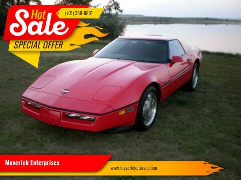 1989 Chevrolet Corvette for sale at Maverick Enterprises in Pollock SD