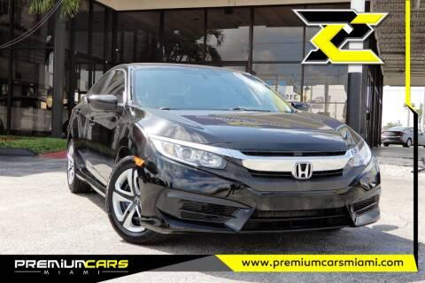 2017 Honda Civic for sale at Premium Cars of Miami in Miami FL