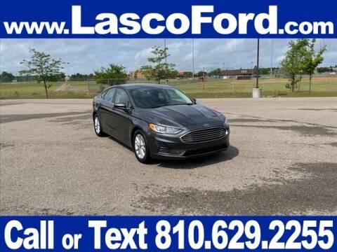 2020 Ford Fusion for sale at LASCO FORD in Fenton MI