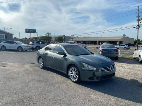 2011 Nissan Maxima for sale at Lucky Motors in Panama City FL