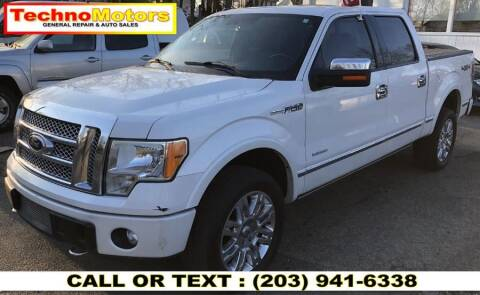 2011 Ford F-150 for sale at Techno Motors in Danbury CT