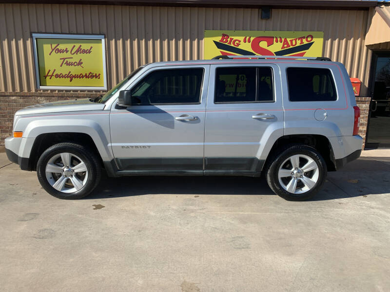 2011 Jeep Patriot for sale at BIG 'S' AUTO & TRACTOR SALES in Blanchard OK