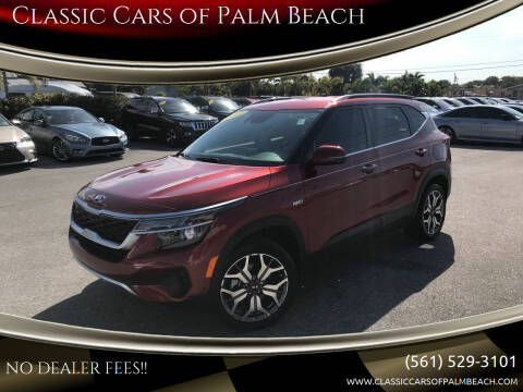 2021 Kia Seltos for sale at Classic Cars of Palm Beach in Jupiter FL