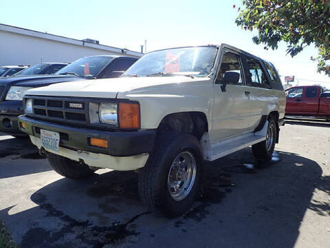 1985 Toyota 4Runner for sale at Tommy's 9th Street Auto Sales in Walla Walla WA