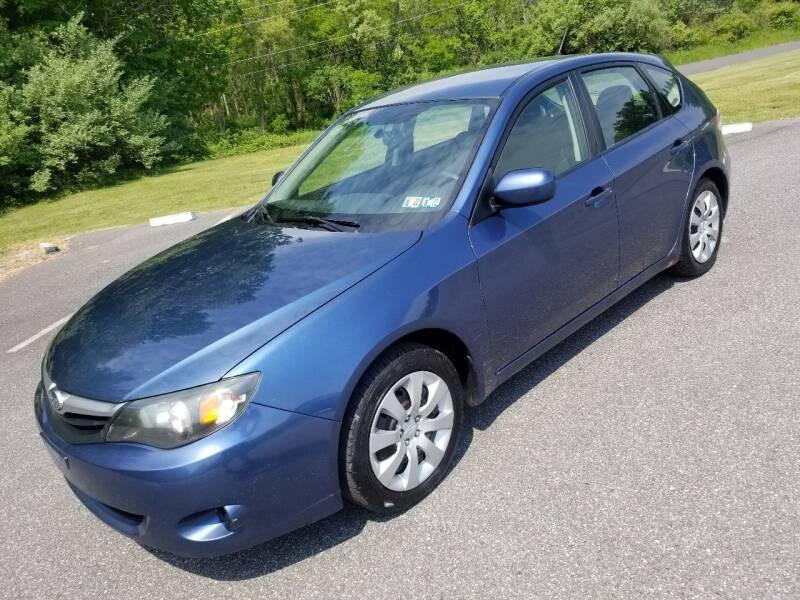 2011 Subaru Impreza for sale at GMG AUTO SALES in Scranton PA
