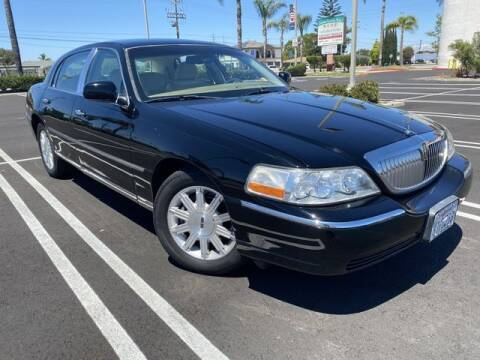 2010 Lincoln Town Car for sale at Beach Auto Group LLC in Midway City CA