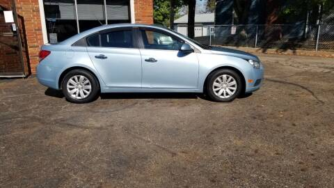 2011 Chevrolet Cruze for sale at Modern Day Motor Cars LLC in Wadsworth OH