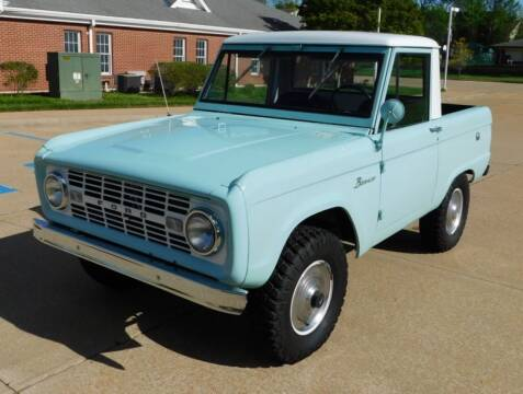 1966 Ford Bronco for sale at WEST PORT AUTO CENTER INC in Fenton MO