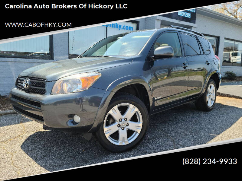 2008 Toyota RAV4 for sale at Carolina Auto Brokers of Hickory LLC in Newton NC