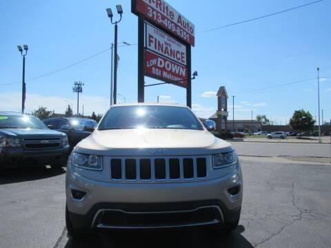 2014 Jeep Grand Cherokee for sale at Bi-Rite Auto Sales in Clinton Township MI