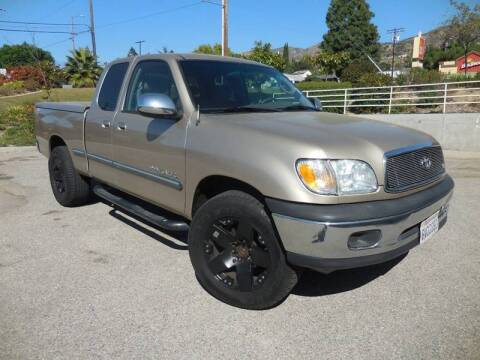 2002 Toyota Tundra for sale at ARAX AUTO SALES in Tujunga CA