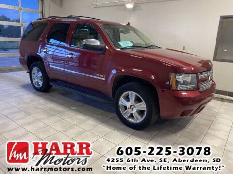2010 Chevrolet Tahoe for sale at Harr's Redfield Ford in Redfield SD