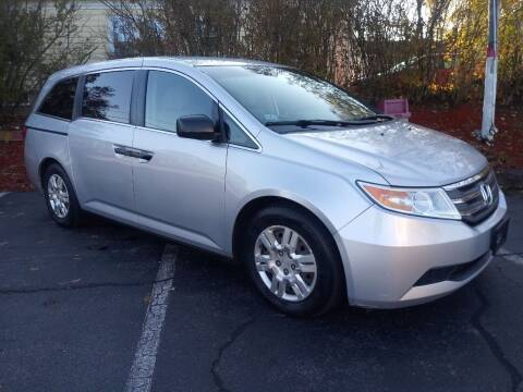 2011 Honda Odyssey for sale at MIRACLE AUTO SALES in Cranston RI