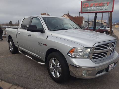 2014 RAM Ram Pickup 1500 for sale at Sunset Auto Body in Sunset UT