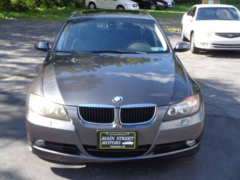 2007 BMW 3 Series for sale at MAIN STREET MOTORS in Norristown PA