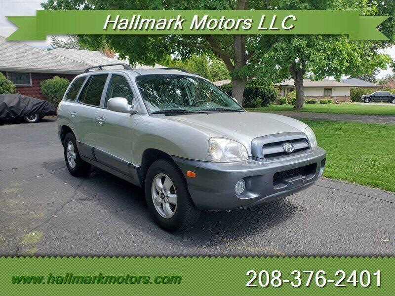 2005 Hyundai Santa Fe for sale at HALLMARK MOTORS LLC in Boise ID
