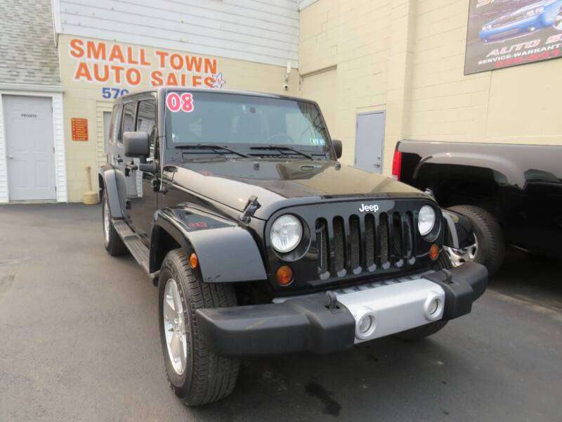 2008 Jeep Wrangler Unlimited for sale at Small Town Auto Sales in Hazleton PA