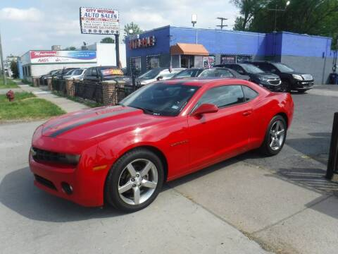 2010 Chevrolet Camaro for sale at City Motors Auto Sale LLC in Redford MI