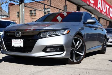 2019 Honda Accord for sale at HILLSIDE AUTO MALL INC in Jamaica NY