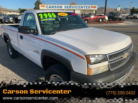 2005 Chevrolet Silverado 2500HD for sale at Carson Servicenter in Carson City NV