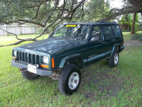 1999 Jeep Cherokee for sale at Hartman's Auto Sales in Victoria TX