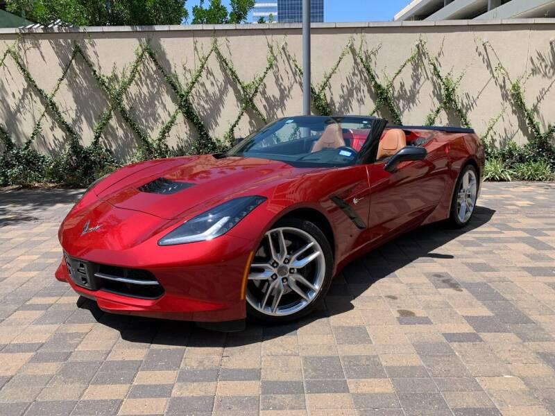 2014 Chevrolet Corvette for sale at ROGERS MOTORCARS in Houston TX