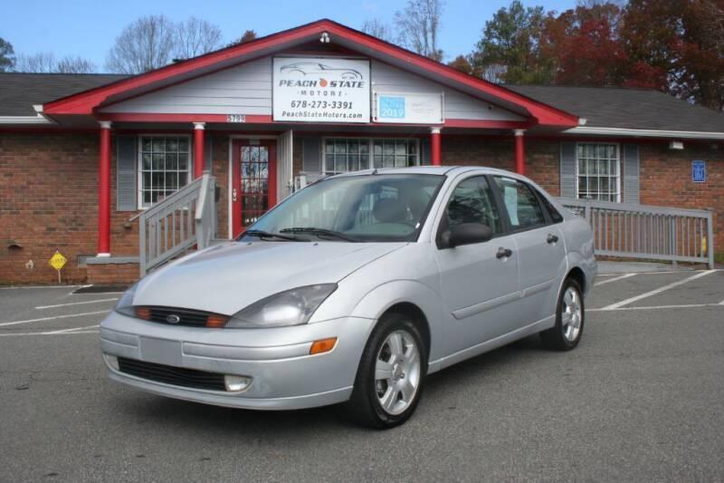 2004 Ford Focus for sale at Peach State Motors Inc in Acworth GA