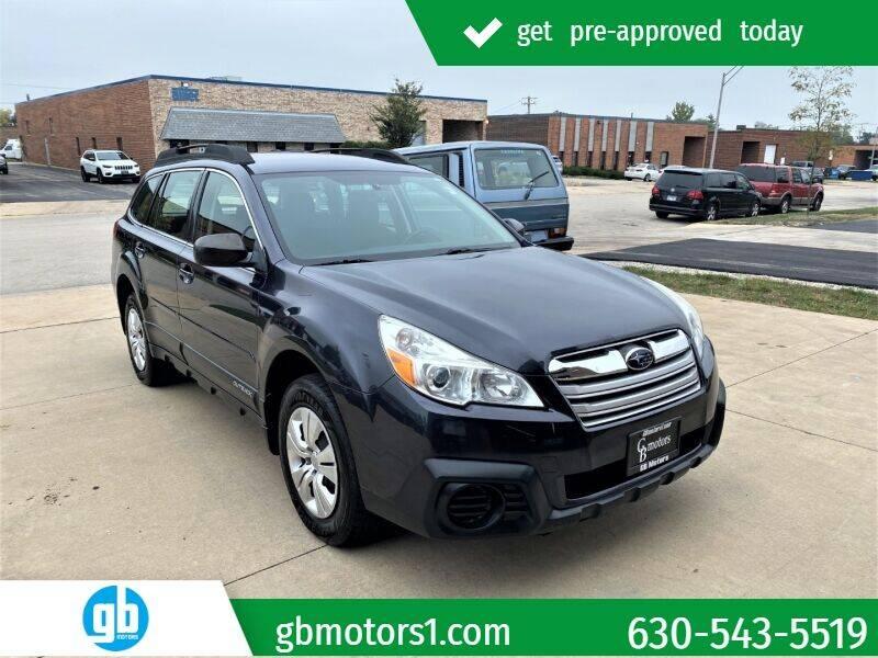 2013 Subaru Outback for sale at GB Motors in Addison IL