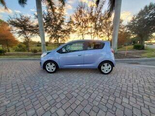 2015 Chevrolet Spark for sale at World Champions Auto Inc in Cape Coral FL