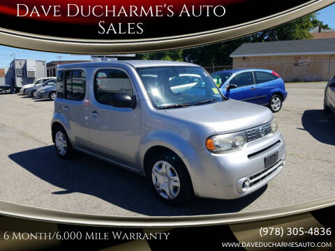 2009 Nissan cube for sale at Dave Ducharme's Auto Sales in Lowell MA