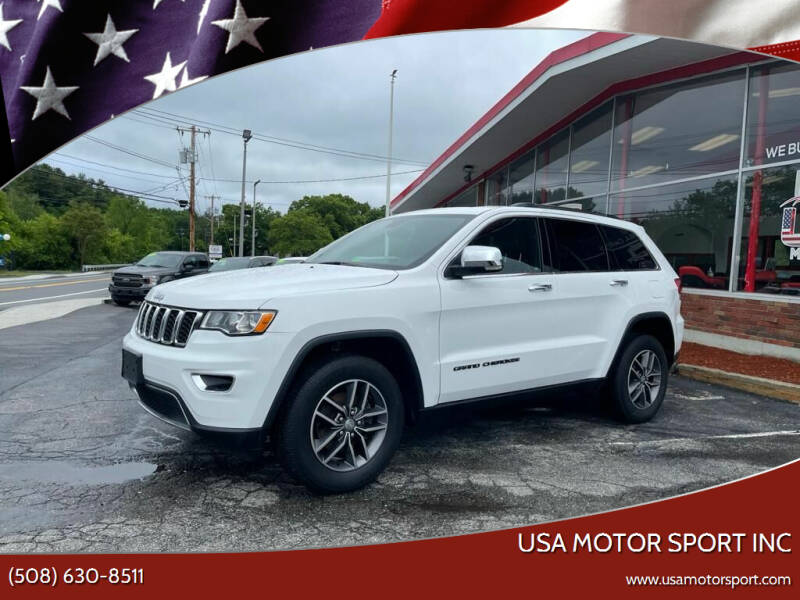 2018 Jeep Grand Cherokee for sale at USA Motor Sport inc in Marlborough MA